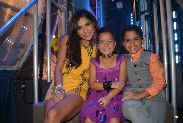 Aquí Alejandra con Dariana y el otro Alejandro.