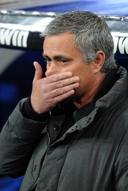 En España, José Mourinho parecía tener sueño...