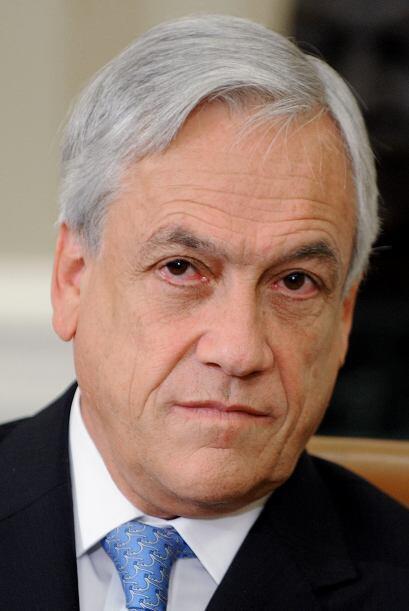 10. Sebastian Piñera. El presidente de Chile es el cuarto hombre más ric...