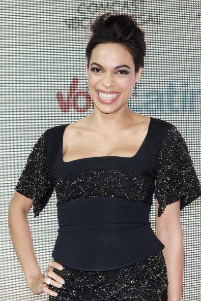 Rosario fue otra de las actrices que lucieron estupenda en la alfombra r...