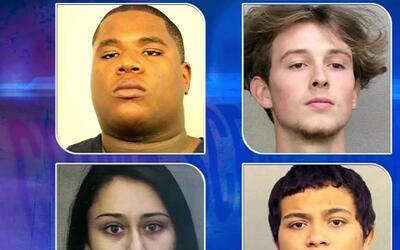 'Miami en un Minuto': arrestan a tres sospechosos de robo a mano armada...