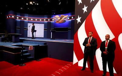 Agentes del Servicio Secreto custodian el área donde estar&aacute...