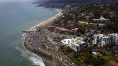 Los temblores se sintieron en localidades próximas a la costa california...