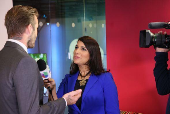 El ahora empresario conversó con Julie Ferrer de Primer Impacto.