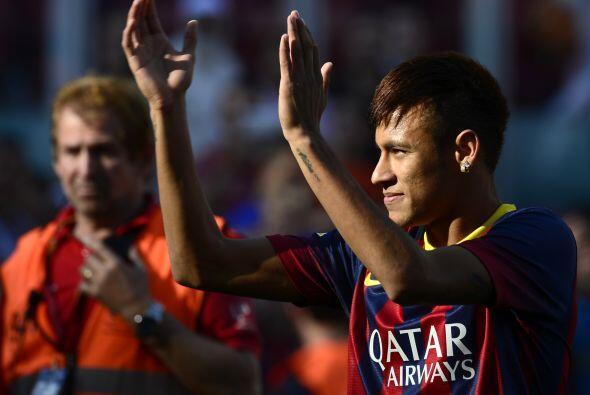 Así culminaba una fiesta total en el Camp Nou al ver por primera...