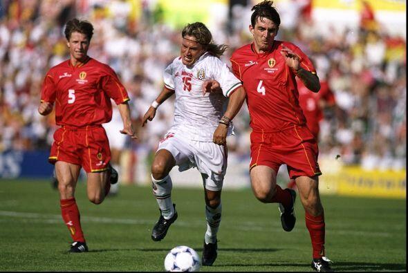 Su segundo encuentro en la Copa del Mundo de 1994 fue ante Bélgica, un e...