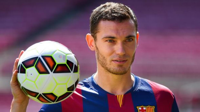 El jugador, que todavía no ha debutado con el Barça por culpa de esta do...
