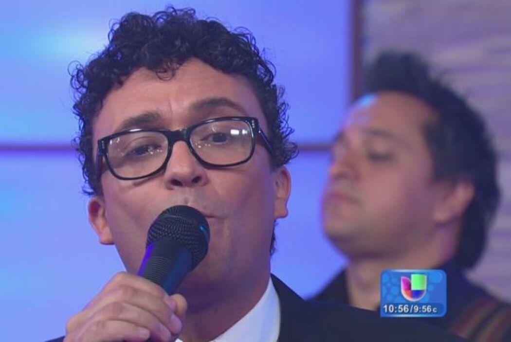 El cantante colombiano Andrés Cepeda presentó su más reciente álbum titu...