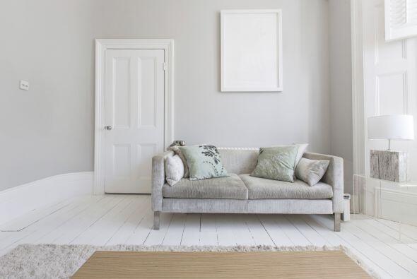 6) Renuncia al total white. Olvídate del blanco para todas las paredes y...