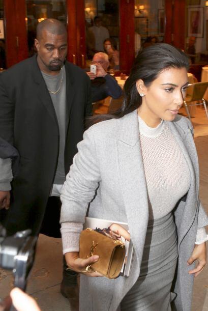 Kim y Kanye parecen estar muy bien, y cada vez lucen más enamorad...