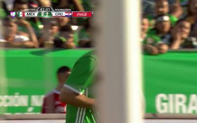 Pase de Elías Hernández,que marca el gol