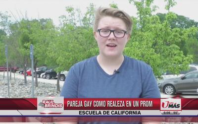 Pareja gay se postula como realeza de Prom