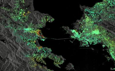 Agencia Espacial Europea estudia la superficie del área de la bah...