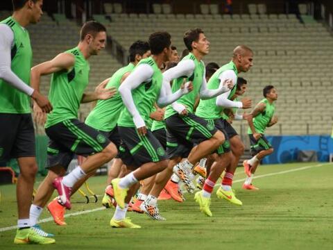 El equipo mexicano pisó la cancha del Estadio Castelao en Fortale...