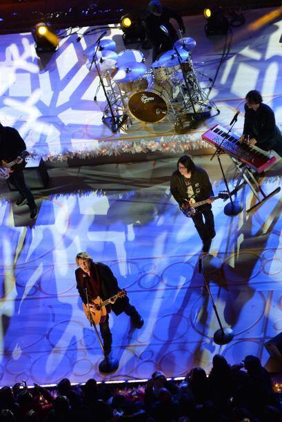 Los músicos John Rzeznik y Robby Takac le dieron un toque de rock...