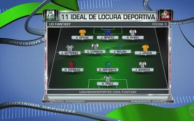 Los jugadores fuerza del equipo de Locura Deportiva de la Jornada 5 en e...