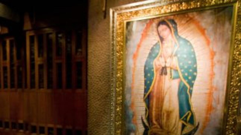 La imagen oficial de la Virgen de Guadalupe.