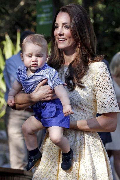 Kate siempre se mostró amorosa con su amado George.