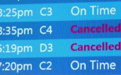 Mal tiempo podría causar demoras en vuelos este fin de semana de Memoria...