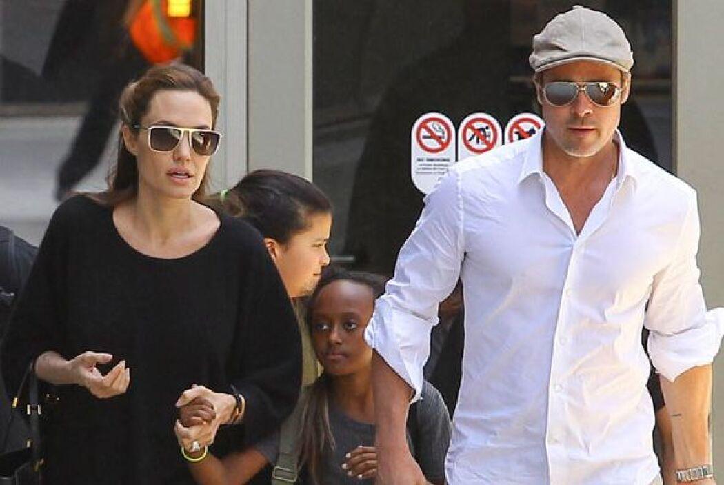 La tropa Pitt-Jolie está de vacaciones.