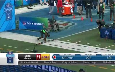 Las 40 yardas de Deion Jones de LSU