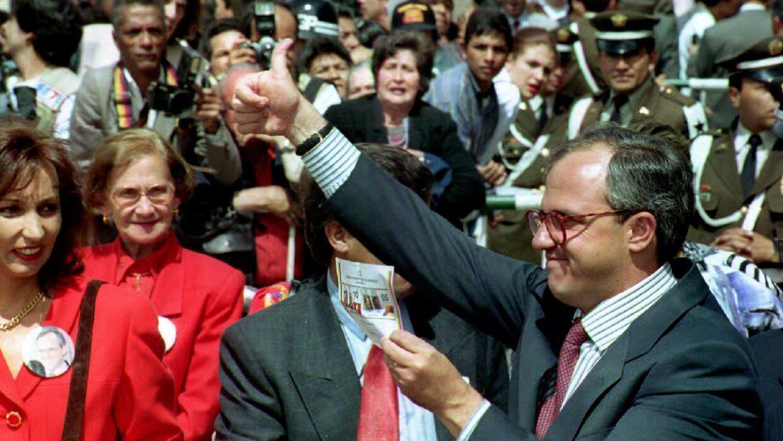 Ernesto Samper campaña