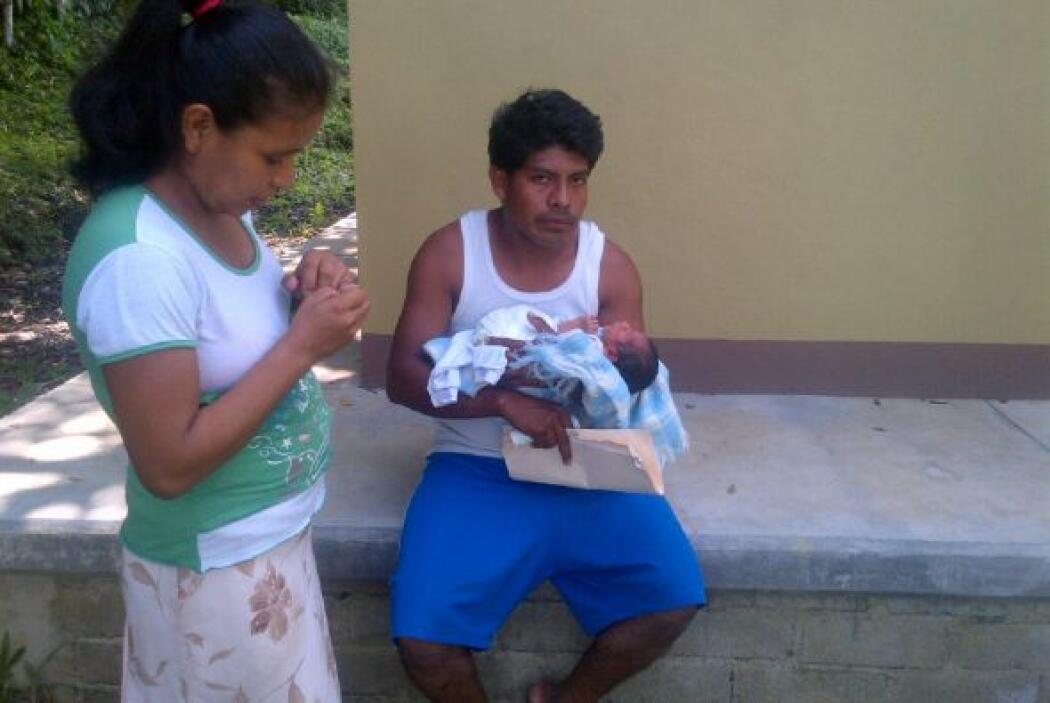 Irma López Aurelio llegó con un avanzado embarazo y el personal del cent...