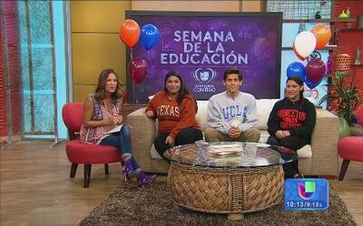 ¡Conoce a los ganadores de las Becas Univision!