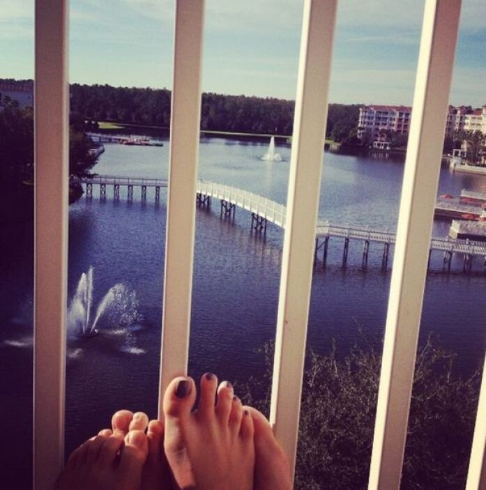 """¡Buenos dias! Disfrutando cada segundo en #familia"", dijo Maity Interia..."