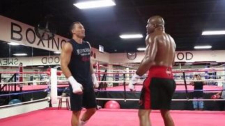 Klitschko y Briggs estuvieron a punto de llegar a los golpes (Foto: Twiter)