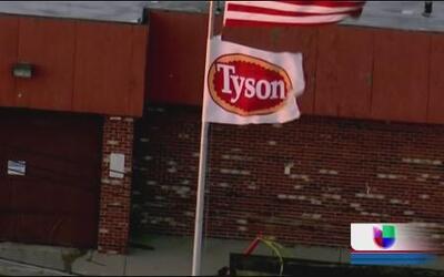 Tyson anuncia el cierre de una de sus plantas en Chicago