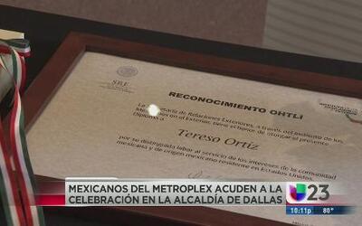 Reconocen a mexicanos del Metroplex