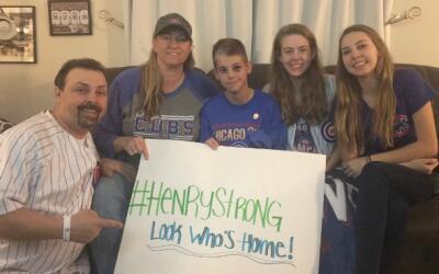 Familia de Henry Sembdner estudiante que fue atacado en escuela de Elgin...