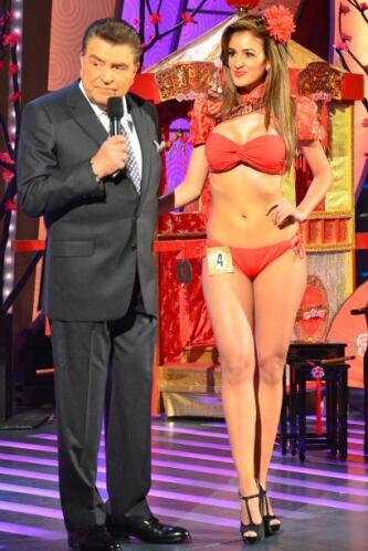 ¡Qué bella lucía Pierina Parra en su bikini!