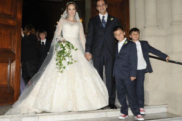 Se nota que lo de Gaby son las bodas multitudinarias.