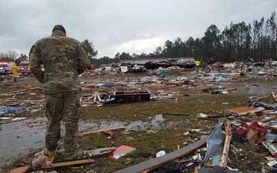 Al menos 18 muertos por las fuertes tormentas en el sur de EEUU