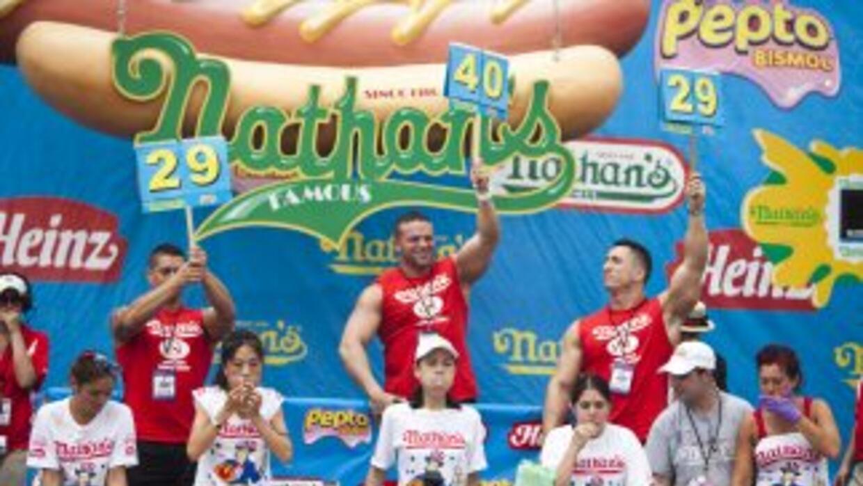 Concurso de hot dogs