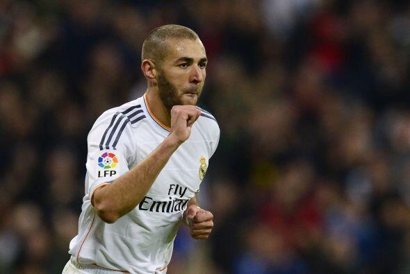 Benzema volvió a 'mojar' para marcar el 7-3 definitivo, una goleada monu...