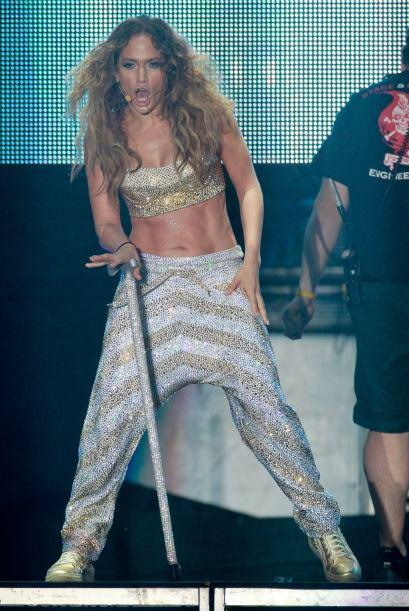 Jennifer Lopez trabajó mucho para recuperar sus cuadritos. M&aacu...