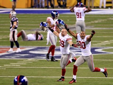 Inmediatamente después de concretarse el triunfo de los Giants, f...