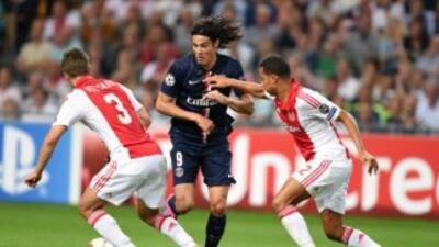 Ajax y PSG repartieron puntos en su estreno en Champions.