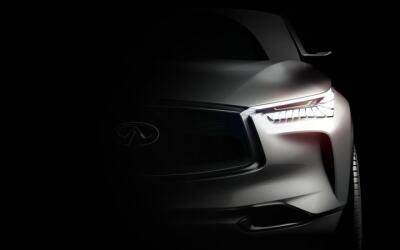 Teaser del prototipo que mostrará Infiniti en el Auto Show de Pek...