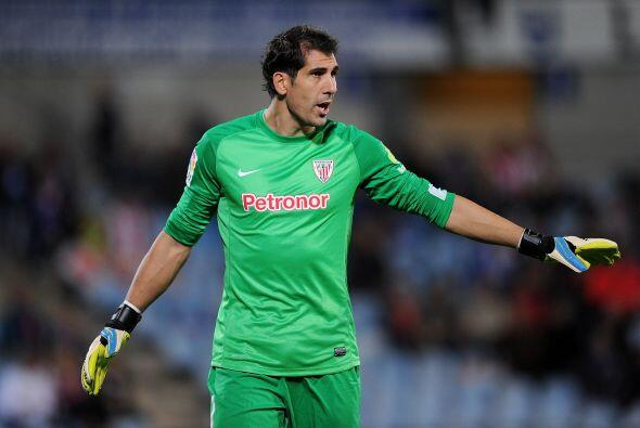 Gorka Iraizoz es un inamovible del arco del athletic de Bilbao, el meta...