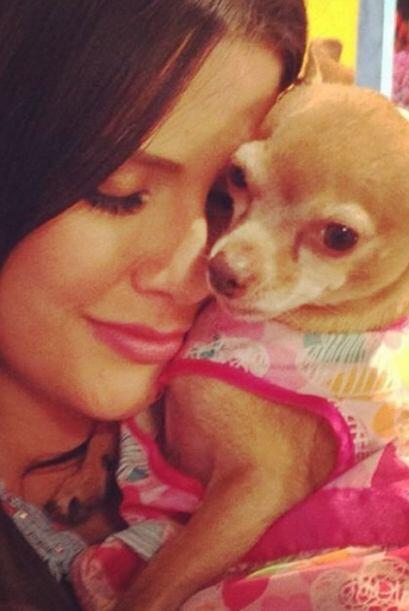 """Amo a mi chiquita @HoneyBerrytv"", confesó Ana. (Abril 11, 2014)"