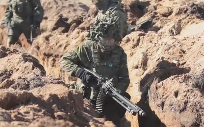 En medio de tensiones con Rusia fuerzas de EEUU y Estonia realizan ejerc...