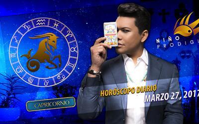 Niño Prodigio - Capricornio 27 de marzo, 2017