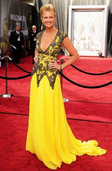 Indiscutiblemente este chillante vestido fue uno de los peores 'looks' q...