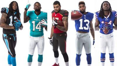 K. Benjamin (Panthers), J. Landry (Dolphins), M. Evans (Buccaneers), O....
