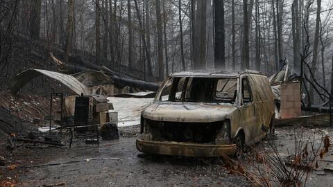De los incendios a la nieve, la naturaleza y su poder devastador esta se...