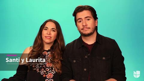 Santi y Laurita nos cuentan qué es lo mejor de estar casados
